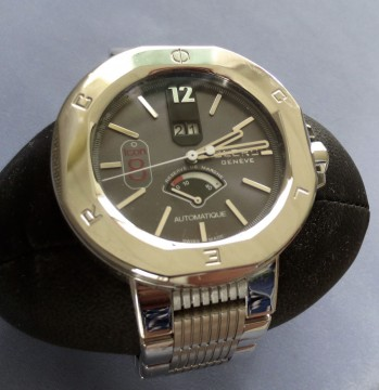 Clerc ICON 8 Stainless Steel Automatic Watch – ORIG BOX/MANUAL for sale