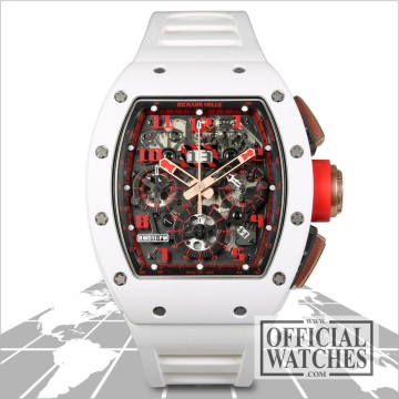Richard Mille Rm011 Felipe Massa White Demon Rm011 AO RG ATZ OW40961 for sale