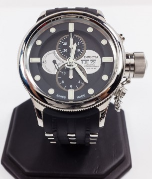 Invicta Russian Diver Model 5930 Valjoux Stainless Steel Swiss Made Watch for sale