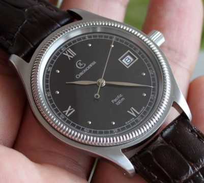 rare Chronoswiss Pacific 100m Automatic Ref.2813 Men's Watch 38,5 mm ETA 2892 2 for sale