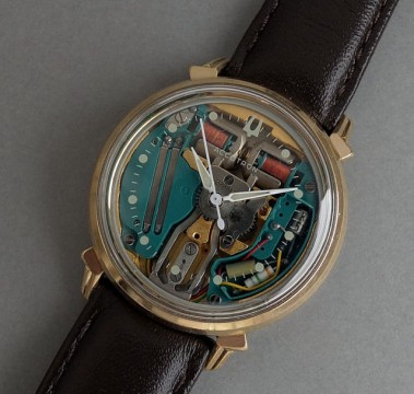 Bulova Accutron Spaceview Gents Vintage Tuning Fork Watch 1967 JUST SERVICED for sale