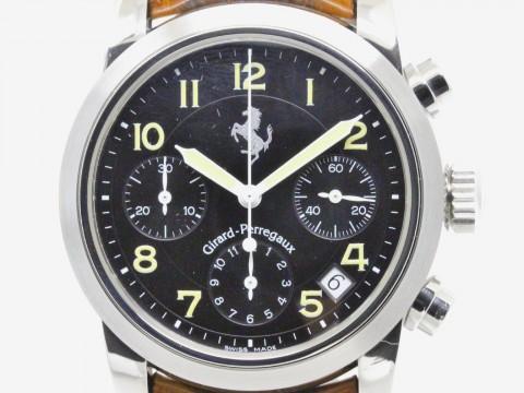 Girard Perregaux Ferrari Chronograph Steel Automatic Mens Watch 8020 (BF077639) for sale