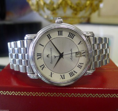 Mens Maurice Lacroix Ref. 2888 Automatic Stainless Steel Date Watch for sale