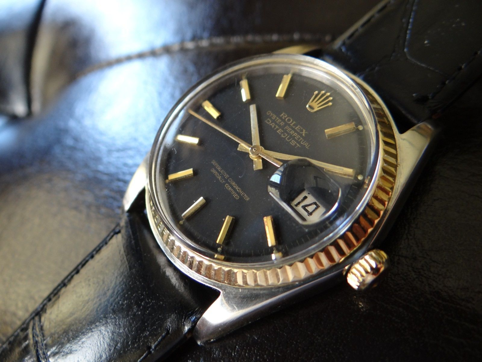 1971 vintage rolex datejust automatic men s original
