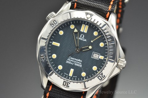 Mens Omega Seamaster Professional 300M Quartz Stainless Steel Watch 2542.80 for sale