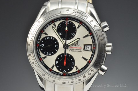 Mens Omega Speedmaster Chronograph Automatic Stainless Steel 40MM Watch 3211.31 for sale