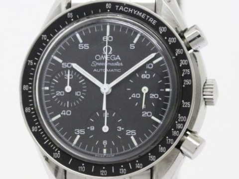 Polished Omega Speedmaster Automatic Steel Mens Watch 3510.50 (BF090440) for sale