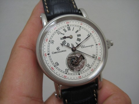 Authentic Chronoswiss Chronoscope CH 1523 Automatic watch for sale