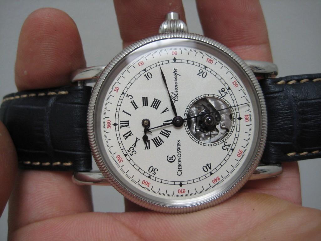 Authentic Chronoswiss Chronoscope CH 1523 Automatic watch