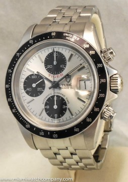 """Men's Tudor """"prince Tiger"""" Chronograph Watch   Stainless Steel / Auto / Date for sale"""