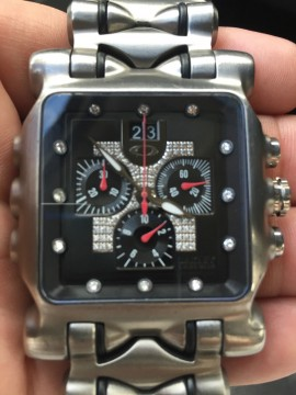 Oakley Rare Diamond Minute Machine Watch GMT, Time Bomb, Hollow, Gearbox for sale