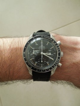 Omega Speedmaster Reduced Acciaio con Certificato di autenticità for sale