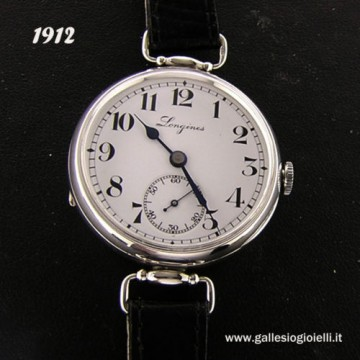 Orlogio Longines IN Argento 900 ANNO 1912 6 Grands PRIX Mecc. MAN. for sale
