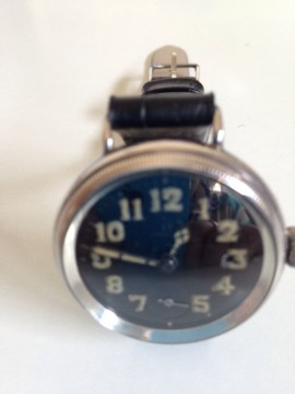 Rare Omega Trench Watch Military,authentic Collector's Item,pieza de coleccion for sale