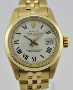Rolex Oyster Perpetual Datejust LADY GOLD 18K for sale