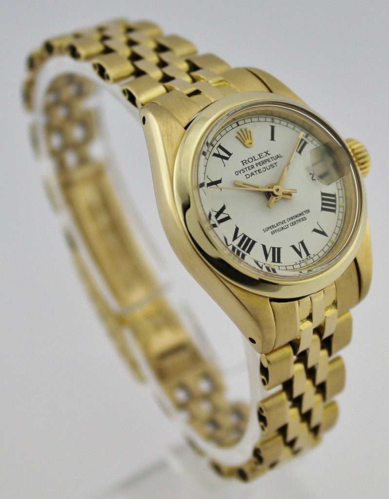 Rolex Oyster Perpetual Datejust LADY GOLD 18K