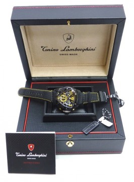 """Tonino Lamborghini Spyder Chronograph Stainless Steel Men's Watch""""free SHIPPING"""" for sale"""